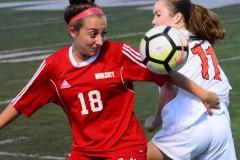 CIAC Girls Soccer; Wolcott vs. Watertown - Photo # 862