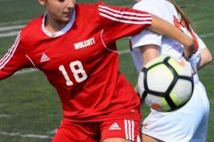 CIAC Girls Soccer; Wolcott vs. Watertown - Photo # 863