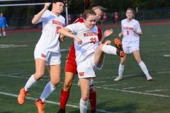 CIAC Girls Soccer; Wolcott vs. Watertown - Photo # 866