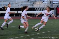 CIAC Girls Soccer; Wolcott vs. Watertown - Photo # 874
