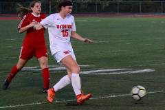 CIAC Girls Soccer; Wolcott vs. Watertown - Photo # 886