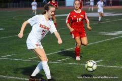 CIAC Girls Soccer; Wolcott vs. Watertown - Photo # 890