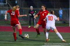 CIAC Girls Soccer; Wolcott vs. Watertown - Photo # 894