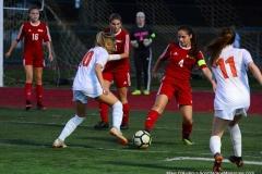 CIAC Girls Soccer; Wolcott vs. Watertown - Photo # 897