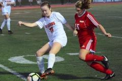 CIAC Girls Soccer; Wolcott vs. Watertown - Photo # 928