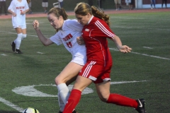 CIAC Girls Soccer; Wolcott vs. Watertown - Photo # 929