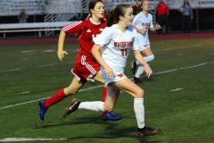 CIAC Girls Soccer; Wolcott vs. Watertown - Photo # 942