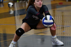 CIAC Girls Volleyball; Bristol Eastern vs. Farmington - Photo # 028