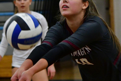 CIAC Girls Volleyball; Bristol Eastern vs. Farmington - Photo # 030