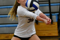 CIAC Girls Volleyball; Bristol Eastern vs. Farmington - Photo # 034