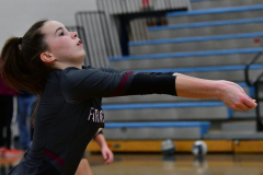 CIAC Girls Volleyball; Bristol Eastern vs. Farmington - Photo # 051