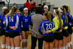 CIAC Girls Volleyball; Bristol Eastern vs. Farmington - Photo # 062