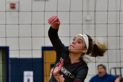 CIAC Girls Volleyball; Bristol Eastern vs. Farmington - Photo # 069