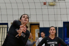 CIAC Girls Volleyball; Bristol Eastern vs. Farmington - Photo # 088
