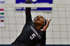 CIAC Girls Volleyball; Bristol Eastern vs. Farmington - Photo # 093