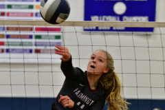 CIAC Girls Volleyball; Bristol Eastern vs. Farmington - Photo # 096