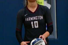CIAC Girls Volleyball; Bristol Eastern vs. Farmington - Photo # 1004