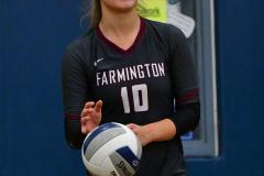 CIAC Girls Volleyball; Bristol Eastern vs. Farmington - Photo # 1005