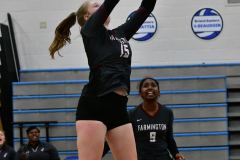 CIAC Girls Volleyball; Bristol Eastern vs. Farmington - Photo # 1012