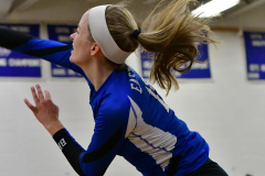 CIAC Girls Volleyball; Bristol Eastern vs. Farmington - Photo # 1015
