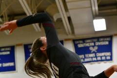 CIAC Girls Volleyball; Bristol Eastern vs. Farmington - Photo # 1022