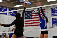CIAC Girls Volleyball; Bristol Eastern vs. Farmington - Photo # 1025