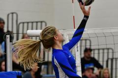 CIAC Girls Volleyball; Bristol Eastern vs. Farmington - Photo # 1088