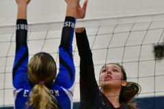 CIAC Girls Volleyball; Bristol Eastern vs. Farmington - Photo # 1092