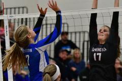 CIAC Girls Volleyball; Bristol Eastern vs. Farmington - Photo # 1098