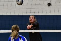 CIAC Girls Volleyball; Bristol Eastern vs. Farmington - Photo # 1102