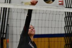 CIAC Girls Volleyball; Bristol Eastern vs. Farmington - Photo # 1117