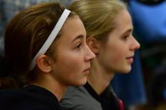 CIAC Girls Volleyball; Bristol Eastern vs. Farmington - Photo # 1132