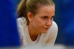 CIAC Girls Volleyball; Bristol Eastern vs. Farmington - Photo # 1137