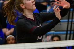 CIAC Girls Volleyball; Bristol Eastern vs. Farmington - Photo # 1138
