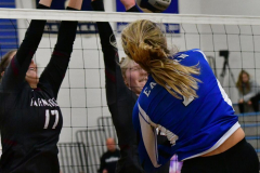 CIAC Girls Volleyball; Bristol Eastern vs. Farmington - Photo # 1146