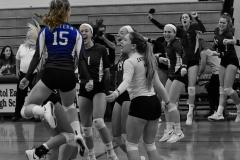 CIAC Girls Volleyball; Bristol Eastern vs. Farmington - Photo # 1151