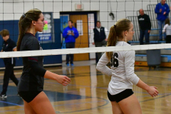 CIAC Girls Volleyball; Bristol Eastern vs. Farmington - Photo # 1158