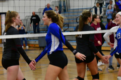 CIAC Girls Volleyball; Bristol Eastern vs. Farmington - Photo # 1161