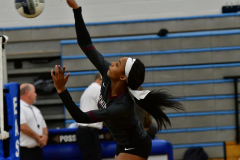 CIAC Girls Volleyball; Bristol Eastern vs. Farmington - Photo # 123