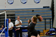 CIAC Girls Volleyball; Bristol Eastern vs. Farmington - Photo # 138