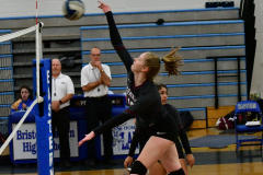 CIAC Girls Volleyball; Bristol Eastern vs. Farmington - Photo # 139
