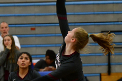 CIAC Girls Volleyball; Bristol Eastern vs. Farmington - Photo # 154