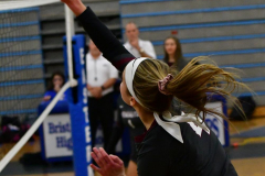 CIAC Girls Volleyball; Bristol Eastern vs. Farmington - Photo # 169
