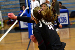 CIAC Girls Volleyball; Bristol Eastern vs. Farmington - Photo # 170