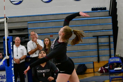 CIAC Girls Volleyball; Bristol Eastern vs. Farmington - Photo # 171