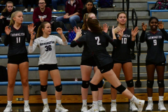 CIAC Girls Volleyball; Bristol Eastern vs. Farmington - Photo # 199