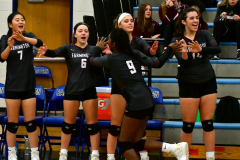 CIAC Girls Volleyball; Bristol Eastern vs. Farmington - Photo # 213