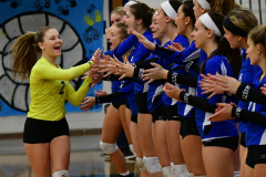 CIAC Girls Volleyball; Bristol Eastern vs. Farmington - Photo # 249