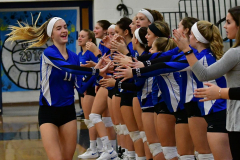 CIAC Girls Volleyball; Bristol Eastern vs. Farmington - Photo # 260