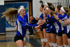 CIAC Girls Volleyball; Bristol Eastern vs. Farmington - Photo # 278
